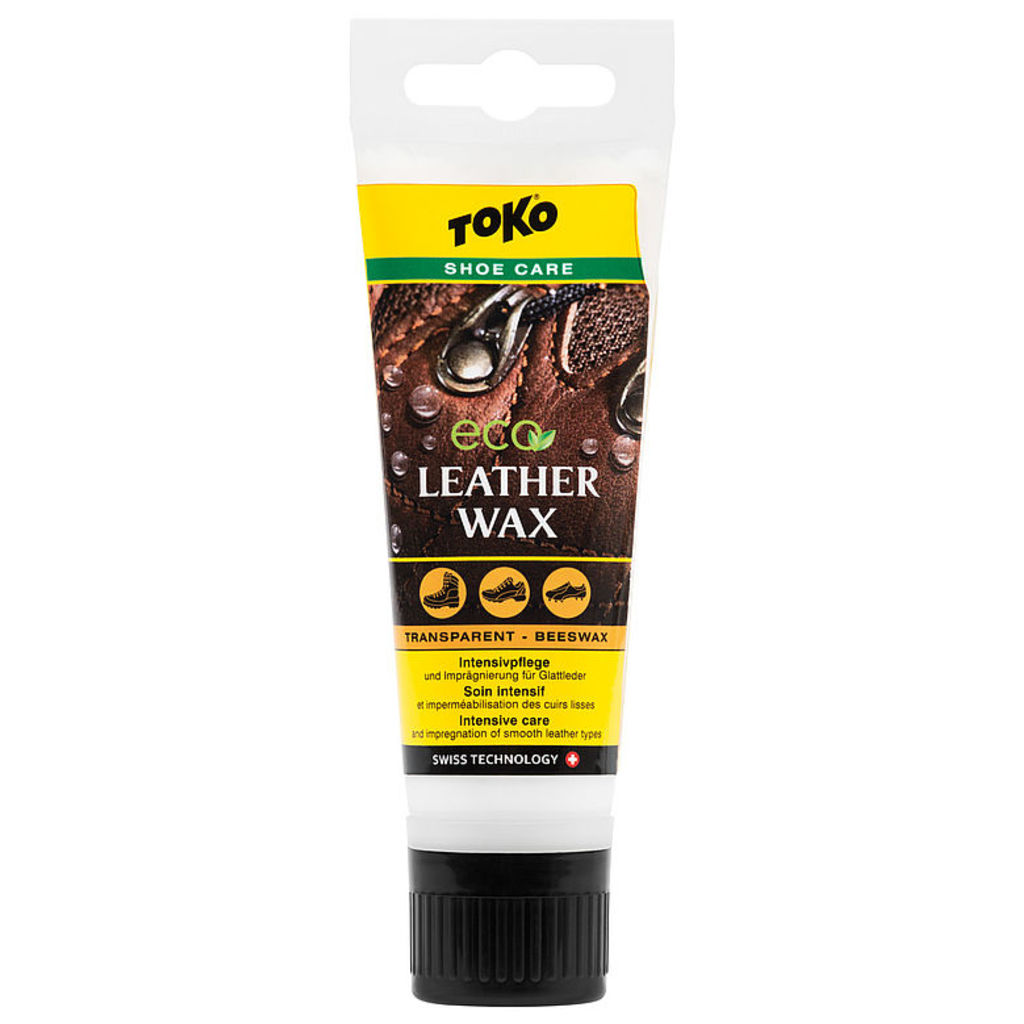 Toko Leather Wax Transparent - Beeswax 75ml
