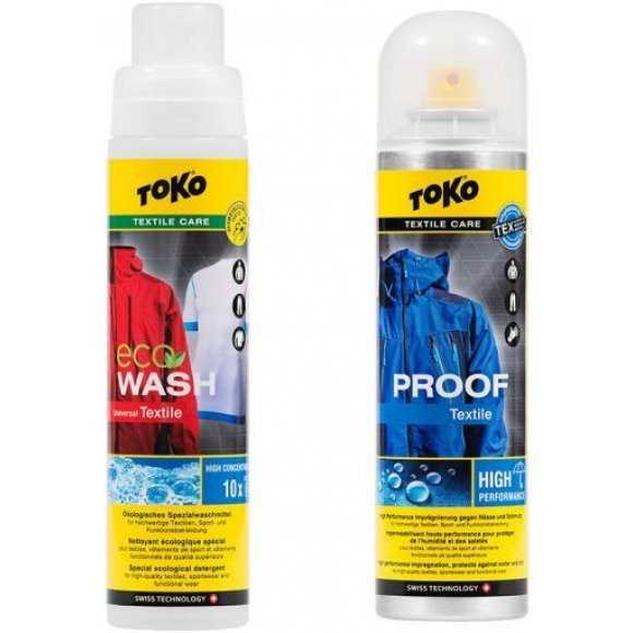 Toko Duo-Pack Textile Proof & Eco Textile Wash