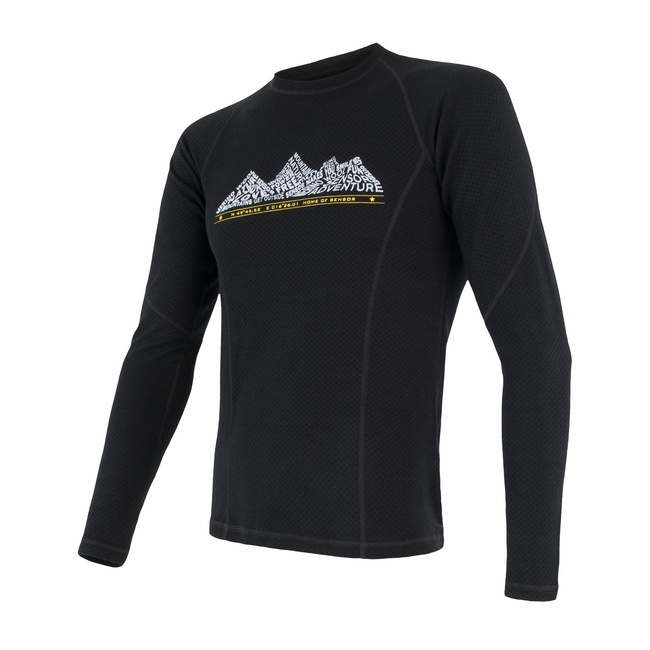 Sensor Merino DF ADVENTURE Men's T-Shirt Long Sleeves