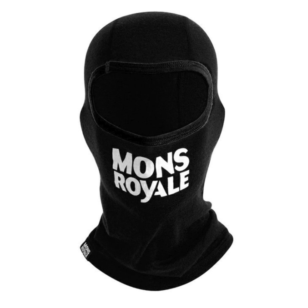 MONS ROYALE B3 Youth Balaclava black